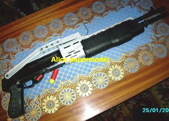 Assault shotgun Sniper Rifle Pistol Submachine toy gun weapon model models