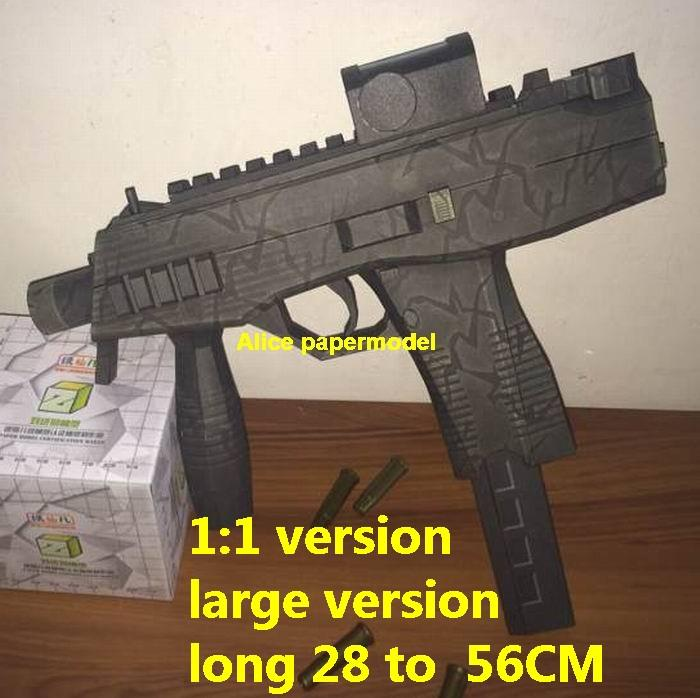 Austria Steyr TMP Tactical Machine sniper rifle Pistol carbine revolver machine shotgun rocket Launcher toy gun weapon models model for sale