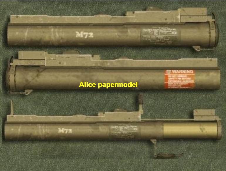 M72 LAW rocket launcher machine gun assault rifle pistol toygun models