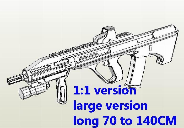 Steyr AUG Assault Sniper Rifle Pistol Shotgun Submachine gun toygun weapon model models for sale