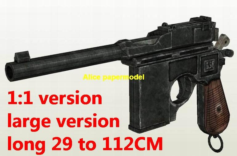 Mauser C96 pistol Revolver assault rifle automatic rifles toy gun weapon model models
