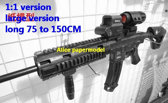 Germany German HK416 HK-416 assault sniper rifle pistol carbine revolver machine shotgun toy gun weapon models model for sale shop store
