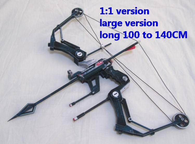 The Avengers Hawkeye crossbow bow pistol sniper rifle carbine revolver machine shotgun rocket Launcher toy gun weapon models model for sale