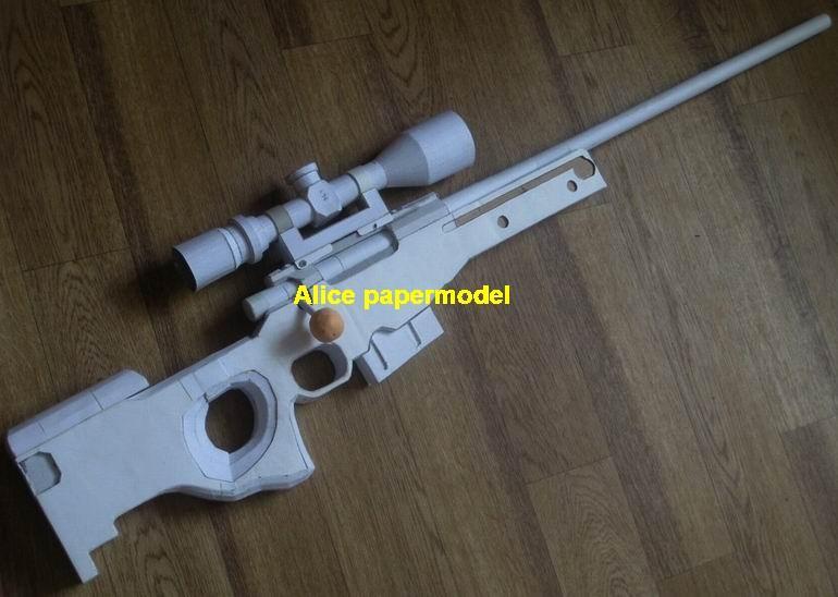 sniper rifle toygun machine gun assault rifles model models