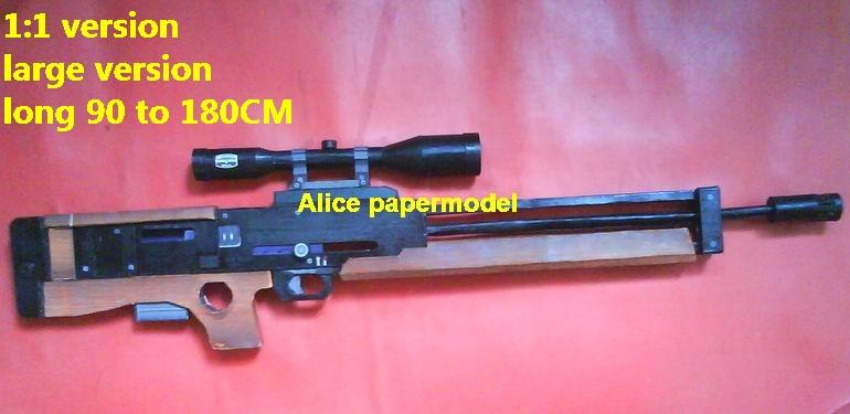 German WA2000 Assault Sniper rifle automatic rifles toy gun weapon models model for sale