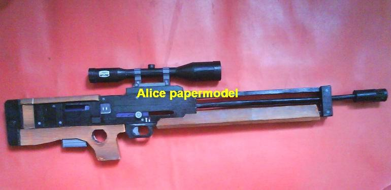 German WA2000 Assault Sniper rifle automatic rifles toy gun weapon model models