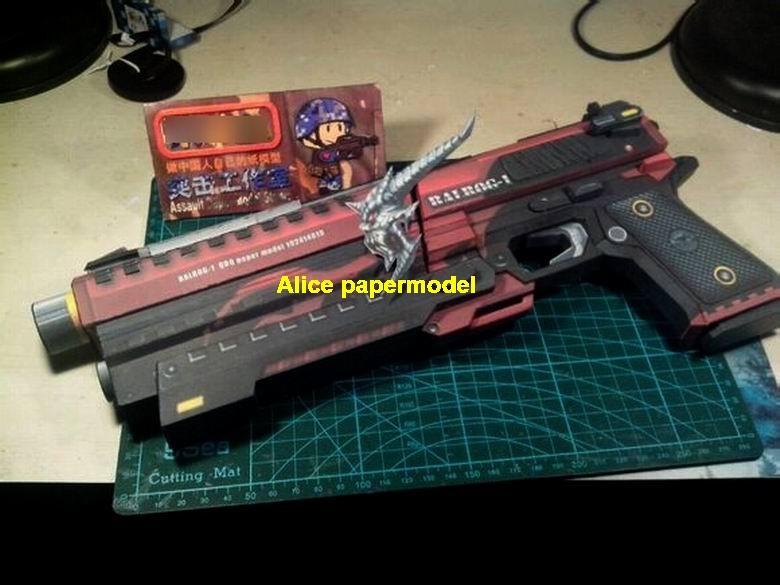 CSOL Balrog pistol sniper rifle carbine revolver machine shotgun   rocket Launcher toy gun weapon models model for sale