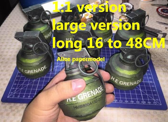 High explosive hand grenades grenade bomb rifle sniper pistol revolver carbine machine rocket Launcher shotgun toy gun weapon model models for sale