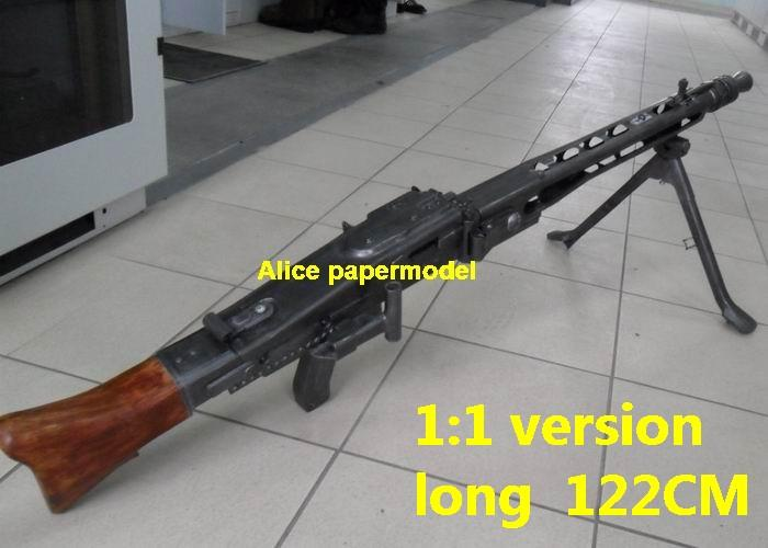 WWII German MG42 MG-42 heavy machine gun Assault Rifle weapon toygun model models for sale