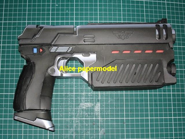 lawgiver machine gun Assault Rifle toygun SCFI weapon model models