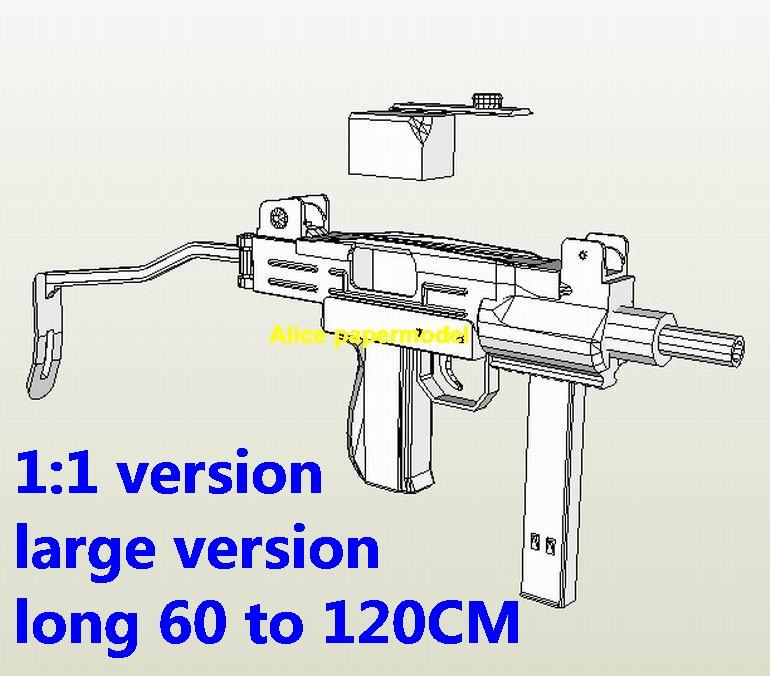 mini uzi sub machine gun Assault sniper Rifle weapon toygun models for sale