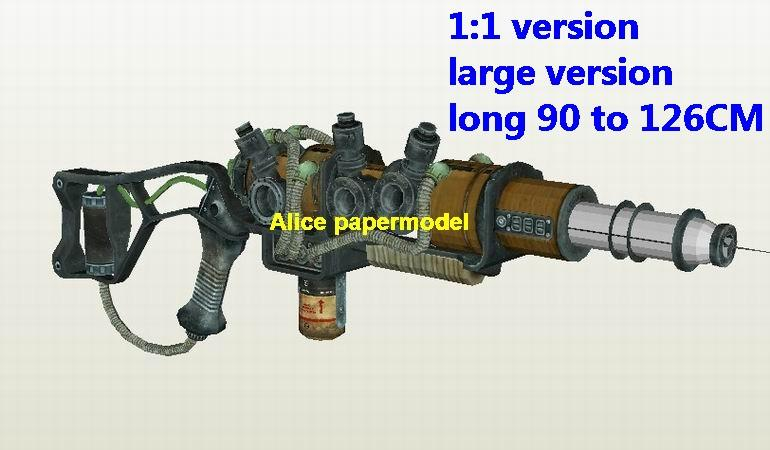 fallout Plasma rifle laser pistol gun SCFI weapon model models for sale