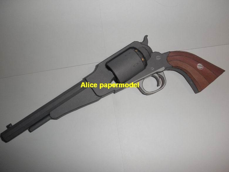 1860 Remington Revolver Assault Sniper Rifle Pistol machine Shotgun toy gun weapon models