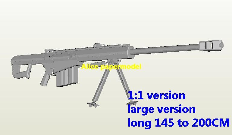 1:1 Russia v-94 Assault rifles Sniper rifle pistol weapon toy gun model models on sale