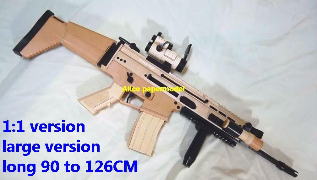 US FN SCAR Assault Rifle Submachine Shotgun toy gun weapon models model for sale