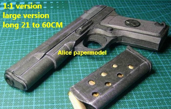 China type 54 Russia TT33 TT-33 pistol sniper rifle carbine revolver machine shotgun rocket Launcher toy gun weapon models model for sale