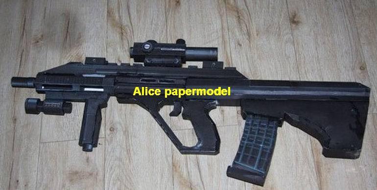 Austrian Steyr AUG assault rifle pistol sniper carbine revolver machine shotgun rocket Launcher toy gun weapon models model for sale shop store