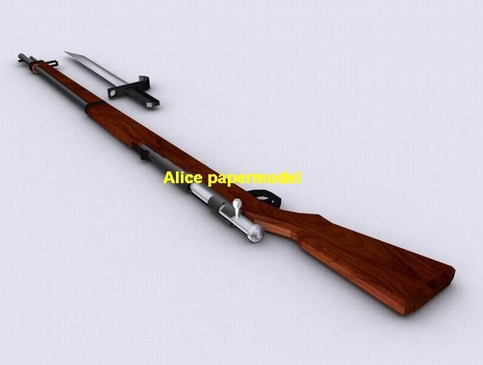 WWII Japan Arisaka type 38 bolt action rifle pistol sniper carbine revolver machine shotgun rocket Launcher toy gun weapon model models for sale