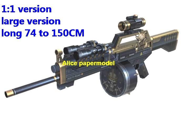 CSOL SKULL pistol sniper rifle carbine revolver machine shotgun rocket Launcher toy gun weapon models model for sale store shop
