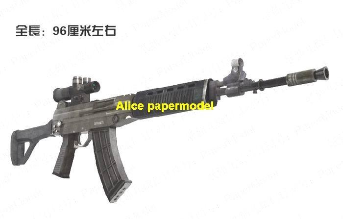 China QBZ03 QBZ-03 pistol sniper rifle carbine revolver machine shotgun rocket Launcher toy gun weapon models model for sale