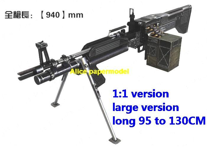 US M60 M-60 E4 machine gun pistol sniper rifle carbine revolver shotgun rocket Launcher toy weapon model models for sale