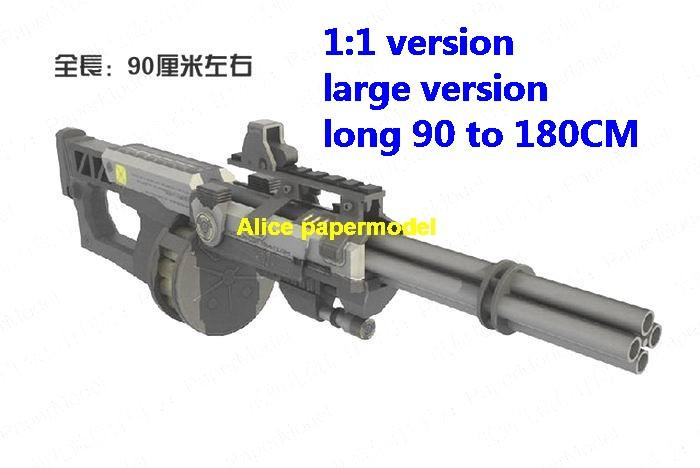 AA-12 AA12 shotgun sniper rifle pistol revolver machine rocket Launcher toy gun weapon model models on sale