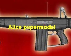 1:1 AA12 AA-12 combat shotgun machine gun pistol handgun weapon models