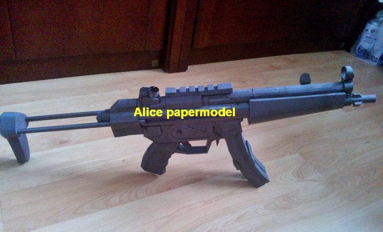 Germany German HK MP5 gun submachine pistol sniper rifle carbine revolver shotgun rocket Launcher toy weapon models model for sale