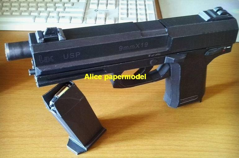 German HK USP MK23 MGS snake pistol sniper rifle carbine revolver machine rocket Launcher toy gun weapon models model for sale store shop