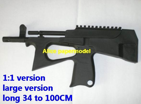 Russia PP-2000 PP2000 submachine gun Assault Rifle automatic rifles toygun weapon models