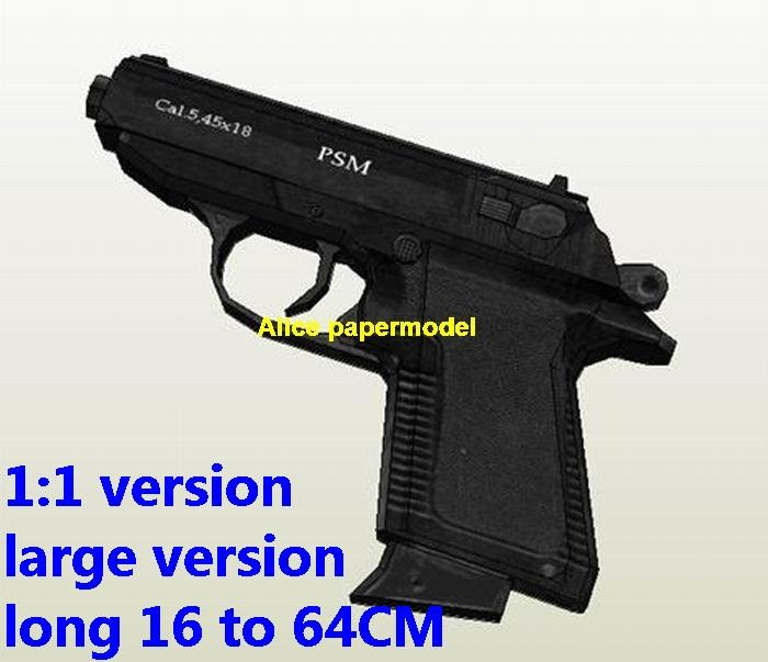 Russia PSM pistol handgun weapon machine gun models