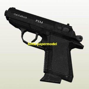 Russia PSM pistol handgun weapon machine gun models