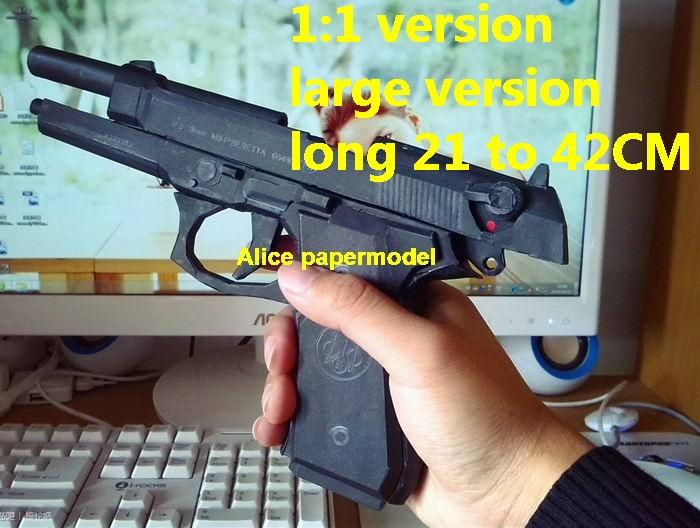 Italy Beretta 92 92FS M9 pistol pistol sniper rifle carbine revolver machine shotgun rocket Launcher toy gun weapon model models on sale