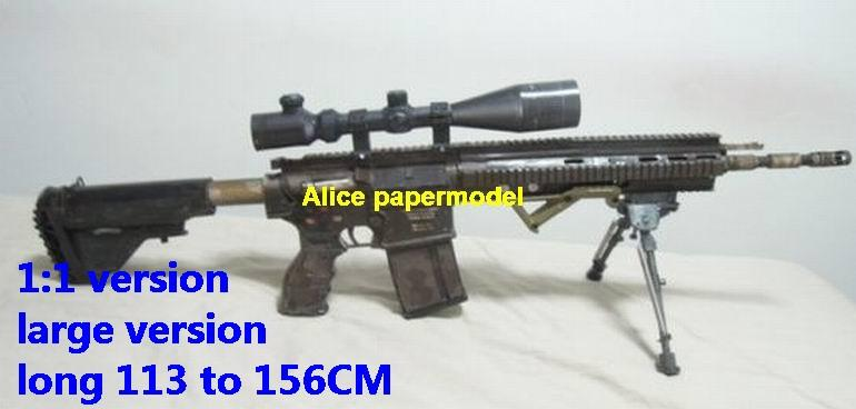 HK417 HK-417 HK416 HK-416 assalult rifle sniper carbine revolver machine shotgun rocket Launcher toy gun weapon models for sale