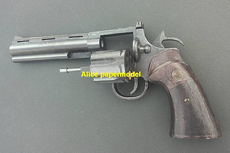 US Colt Python revolver pistol sniper rifle carbine machine shotgun rocket Launcher toy gun weapon models model for sale shop store