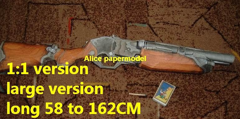 Shotgun Submachine toy gun Assault Rifle weapon model models for sale