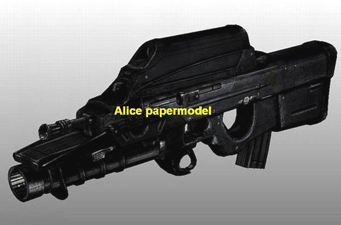1:1 Belgium FN2000 Assault Rifle automatic rifles handgun pistol weapon Revolver toy gun models model