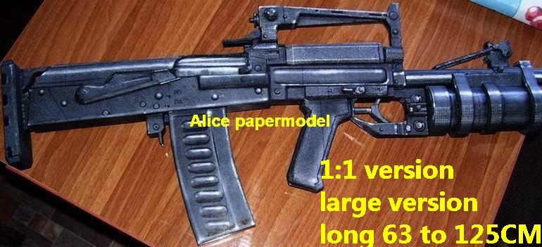 Russia Groza Assault Rifle automatic rifles machine gun weapon toygun model models for sale