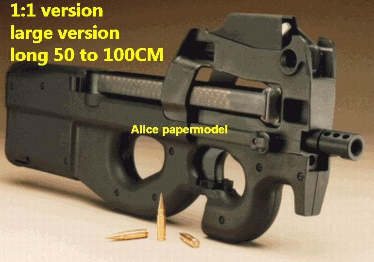 Belgium FN P90 submachine toy gun rifles rifle weapon model models for sale
