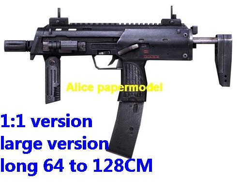 Germany German HK MP7A1 pistol sniper rifle carbine revolver machine shotgun rocket Launcher toy gun weapon models model for sale shop