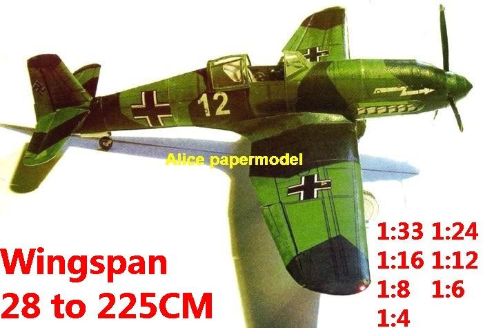 WWII German fighter Heinkel He 100 He-100 aircraft biplane big large scale size plane flight model models soldier pilot scene on sale store shop
