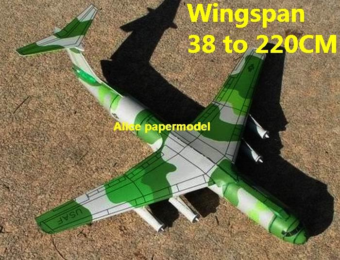 1:120 1:87 1:64 1:48 1:43 1:33 1:24 WWII US Lockheed C141 C-141 Starlifter military strategic airlifter fighter transport aircraft bomber biplane big large scale size plane flight model models soldier pilot scene for sale shop store