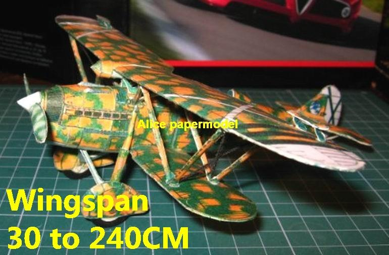 1:48 1:33 1:24 1:16 1:12 1:8 1:6 1:4 WWII Italy FIAT CR-32 CR32 bomber aircraft biplane big large scale size plane flight model models soldier pilot scene for sale shop store