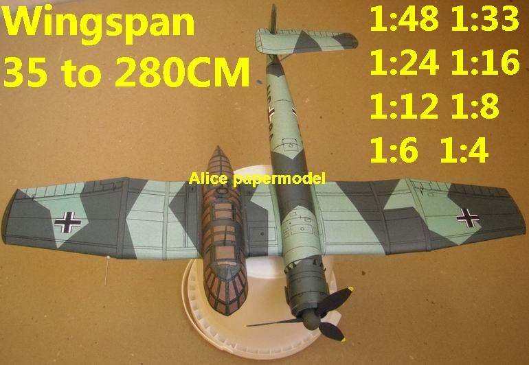 WWII German fighter Messerschmitt Blohm Voss BV-141 BV 141 biplane aircraft big large scale size plane flight model models soldier pilot scene for sale store shop