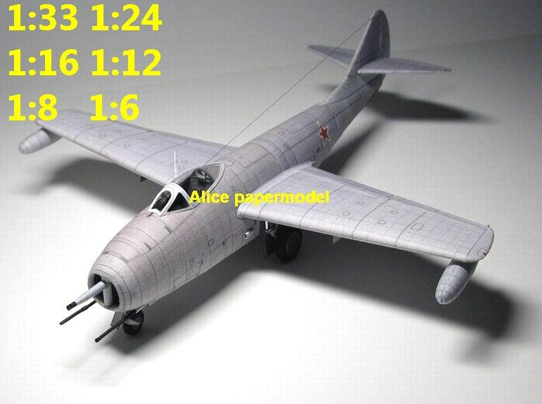 1:48 1:33 1:24 1:18 1:16 1:12 1:8 1:6 Russia USSR MiG9 MiG-9 jet fighter helicopter bomber military transport aircraft biplane big large scale size plane flight model models soldier pilot scene for sale shop store
