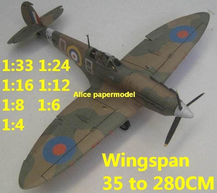 1:48 1:33 1:24 1:16 1:12 1:8 1:6 WWII UK United Kingdom fighter Spitfire aircraft bomber biplane big large scale size plane flight model models soldier pilot scene for sale shop store