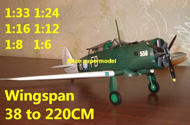 1:48 1:33 1:24 1:16 1:12 1:8 1:6 WWII Australia fighter CAC CA9 aircraft bomber biplane big large scale size plane flight model models soldier pilot scene for sale shop store