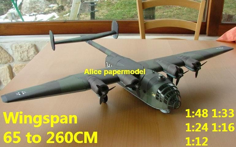 WWII German fighter Arado-232 Arado 232 bomber aircraft biplane big large scale size plane flighter model models soldier pilot scene for sale shop store