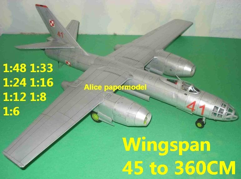 1:48 1:33 1:24 1:18 1:16 1:12 1:8 1:6 Russia USSR IL-28 IL28 Beagle jet bomber fighter military transport helicopter aircraft biplane big large scale size plane flight model models soldier pilot scene for sale shop store