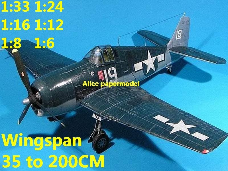 WWII US fighter Grumman F-6F F6F F6F-3 Hellcat aircraft biplane large big scale size plane flight model models soldier pilot scene for sale shop store